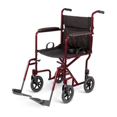 Medline UltraLight Transport SwingAway Footrest