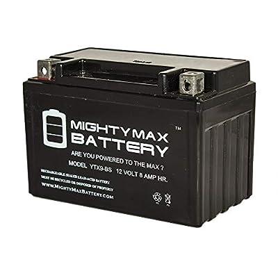 Mighty Max Battery YTX9-BS SLA Battery for Kawasaki 300 EX300 Ninja, ABS '2013-'2014 Brand Product
