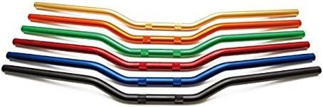 Accossato Manubrio Superbike Alluminio HB152 piega alta* NERO