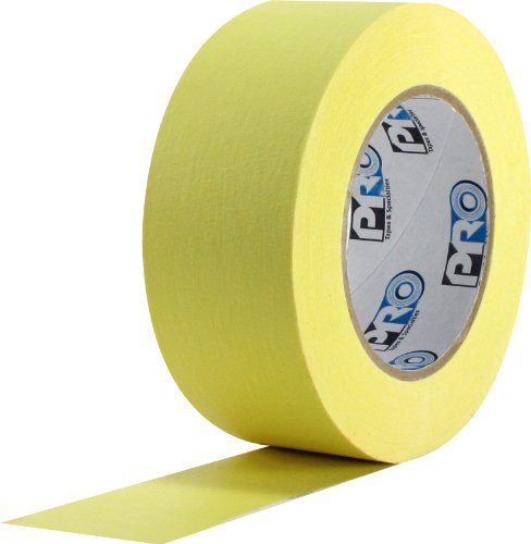 (ProTapes Colored Crepe Paper Masking Tape, 60 yds Length x 2