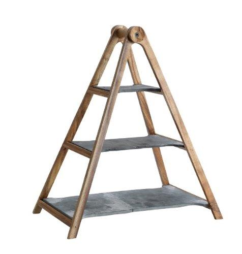 Villeroy & Boch 10-4130-7990 Artesano 3-Tier Wood / Slate Tray Stand (Artesano Boch Villeroy And)