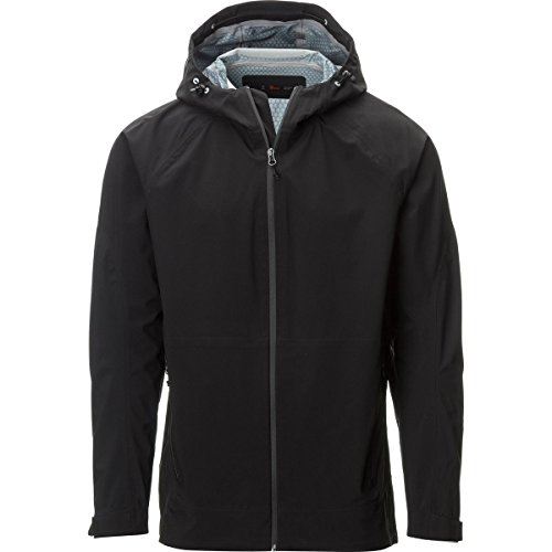 3l Ski (Stoic 3L Ski Shell Jacket - Men's Black,)