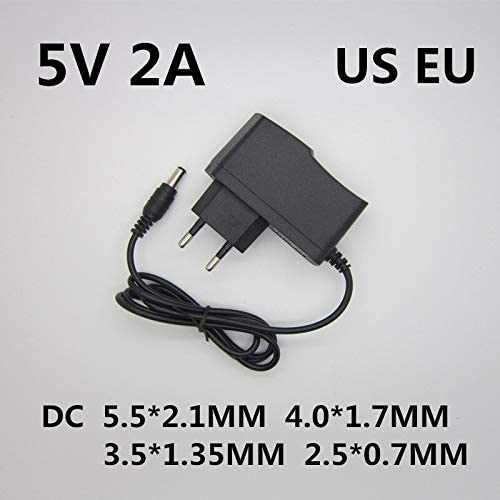 AC100-240V to DC 12V 9V 5V 1A 2A Power Supply Konverter for LED Light EU//US Plug