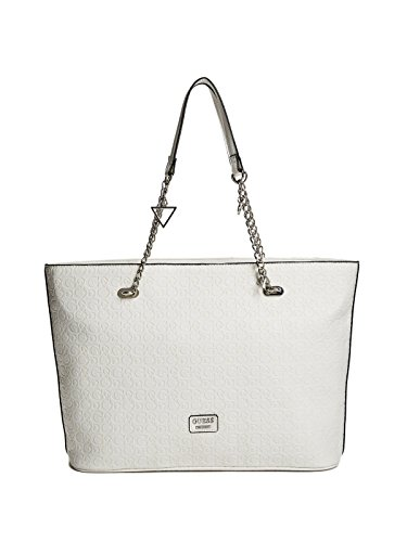 GUESS Factory Women's Larson Embossed Logo Tote