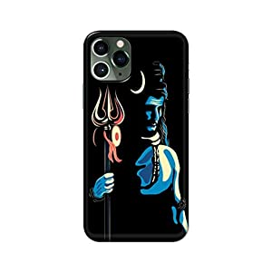 eStuffz for Apple iPhone 11 Pro Max Bhole Nath Lord Shiva Shiv Shankar Baba Mahadev Mahakal Shambho 79 Hard Printed…