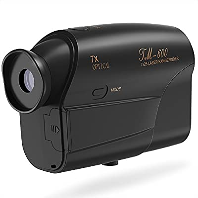 Laser Rangefinder, Fnova Hunting Range Finder Ranging 5-600 Yards?+/- 1 Yd Accuracy?Golf Rangefinder with 6X Magnification Lens for Golf, Racing, Archery, Survey, Distance Meter by Fnova