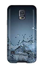 New Water Splash Tpu Skin Case Compatible With Galaxy S5