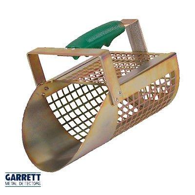 Pala Tamiz Arena Garrett Sand Scoop de Metal Perforada Perforada para Ricerche (Playa mar río