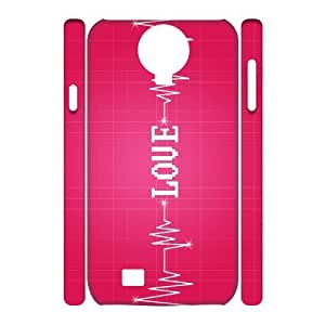 VNCASE Love Pink Phone Case For Samsung Galaxy S4 i9500 [Pattern-1] by supermalls