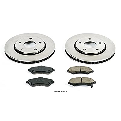 Autospecialty KOE3118 1-Click OE Replacement Brake Kit: Automotive