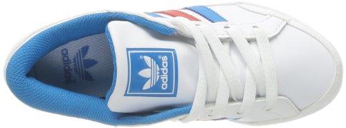 adidas Plimcana Low K - Zapatillas de tela para unisex-niños Blanco - Blanc (Blanc/Blesol/Blanc)