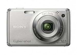 Sony Cybershot DSC-W220 12.1MP Digital Camera with 4x Optical Zoom with Super Steady Shot Image Stabilization (Silver)