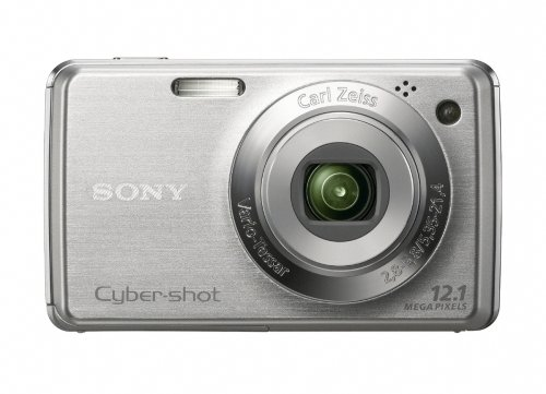 Sony Cybershot DSC-W220 12.1MP Digital Camera with 4x Optica