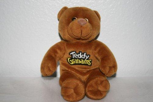 (Teddy Grahams Spicey Cinnamon Stuffed Plush Bean Bear )