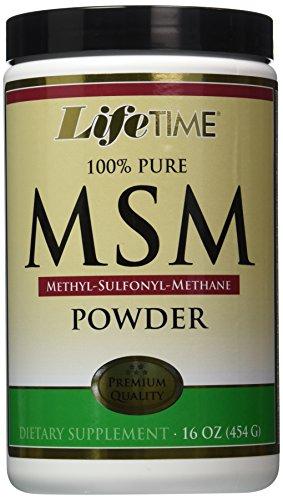 Durée de vie vitamines 100 % Pure poudre de Msm 16 oz Pwdr