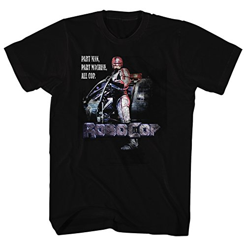 para camiseta 2bhip hombre Cop Robocop Cinema negro zRqZH