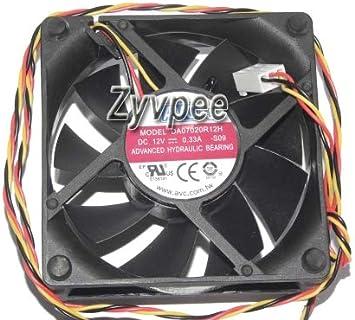 zyvpee® DA07020R12H 7 cm 12 V 0,33 A 3 hilos con control de ...