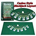 Blackjack Layout 36 x 72 inch - Casino Supplies > Blackjack Supplies