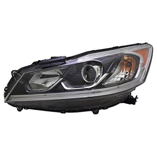 TYC 20-9728-00-1 Honda Accord Replacement Left Head Lamp
