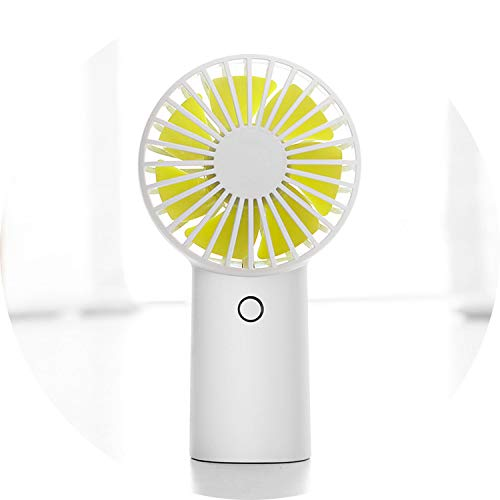4000MAH Rechargeable USB Handheld Mini Fan Third Gear Silent Strong Wind Personal Air Cooler Portable Desk Fans for Home Office,White - Kit Cooler Drive Hard