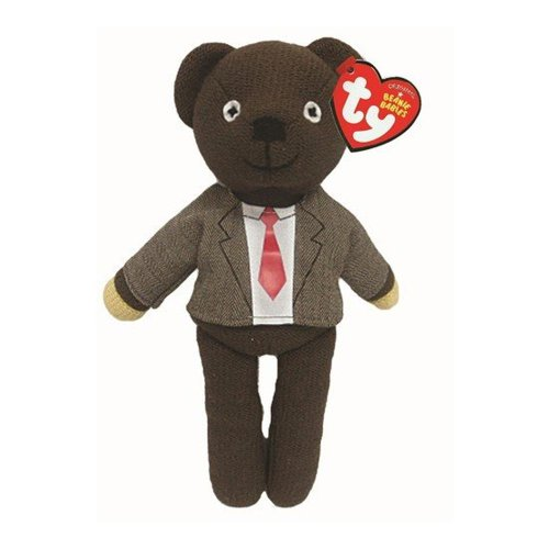 Bear Teddy Plush Mr Bean (Ty Beanie Babies Mr. Bean - Jacket & Tie)