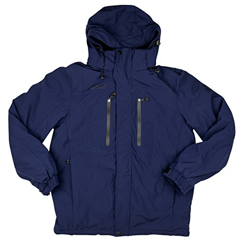 4 Navy Heavyweight Jacket - 4