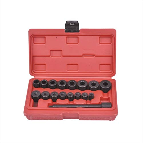 BEESCLOVER 17 Pc Clutch Alignment Tool Kit Show One Size