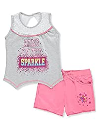 Real Love Girls' 2-Piece Short Set Outfit