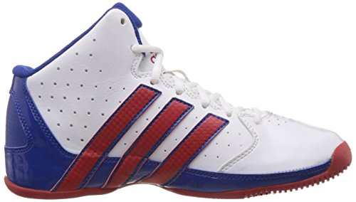 adidas Performance–Scarpe da basket per bambino Weiß/Rot/Blu