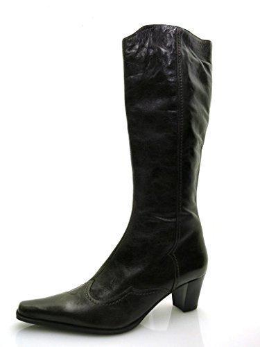 Lamica Bottes en Cuir Chaussures en Cuir Bottes Cuissardes/Bottes À Tiges Longues Chaussures Femme 2876 Marron NCmhO
