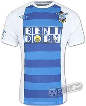 Umbro - Camiseta de fútbol del Benidorm CF (primera equipación ...