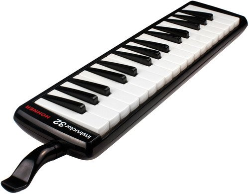Hohner 32B Piano-Style Melodica Black by Hohner Accordions
