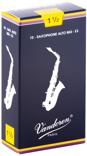Vandoren SR2115 Alto Sax Traditional Reeds Strength