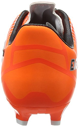 Puma Evospeed 3,5 Lth Fg Chaussure de Football Blanc/Noir/Orange Vif/Hot Pink 7,5