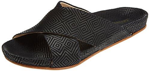 Black Fantasy Geo Women's Geo Geo Black Toe Black S950 Sandals Black Lairen Neosens Open wxUZIfWHHq