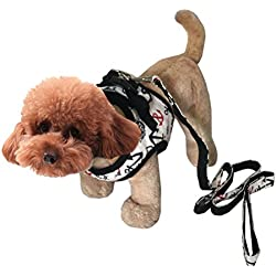 Uniquorn 2017 Cute Fashion Pet Chest Back Traction Rope Dog Sailor Chest Back Spring Summer Sest Teddy Bear Pet Clothes Traction Rope