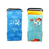 Ambithou Creative Digital Wrist Paper Watch – Waterproof Paper Watch with Magnetic System for Men Women Boys Girls & Kids, Super Light Durable Creative Smart Watch (2 Pack of Blue&Fish) Review