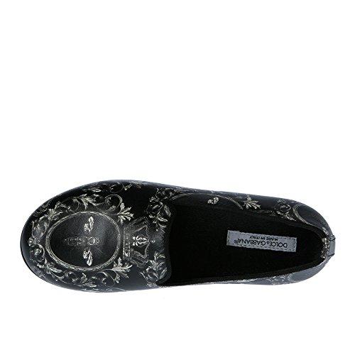 Dolce & Gabbana Mocassino Nero in Fantasia - 28 Precio Barato rcHwlFx