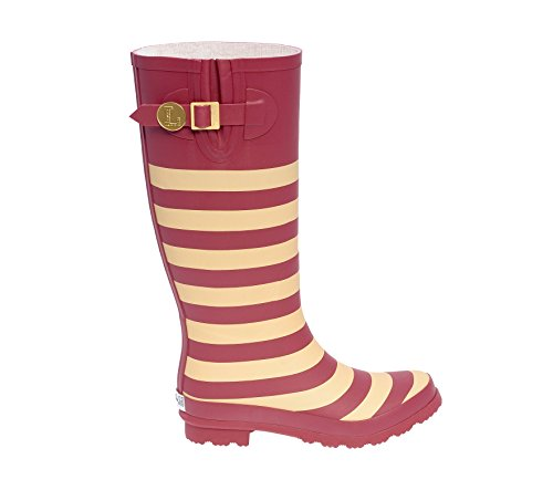 S Garnet Gold and U Rainboots Lillybee Initial Old qwH0xI5