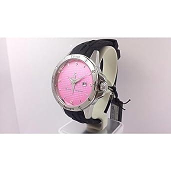 Uhr Cesare Paciotti Time Style tsst002 Quarz (Batterie) Stahl Quandrante Rosa Armband Kautschuk
