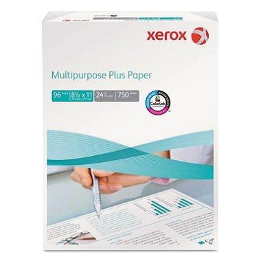 """Xerox - Multipurpose Plus Paper, 24lb, 96 Bright, 8-1/2 x 11"""" - Mega Ream (pack of 6)"""