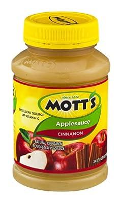 Mott's Cinnamon Applesauce 24 oz (Pack of 12)