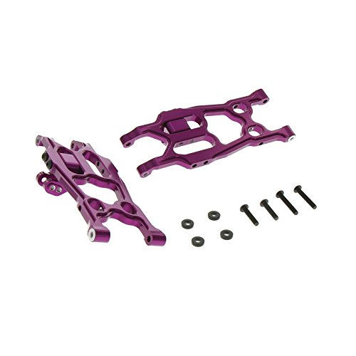 GPM Racing Alloy Rear Lower Arm for 1:10 Axial EXO, Purple