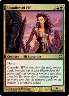 (Magic: the Gathering - Bloodbraid Elf - Alara Reborn)