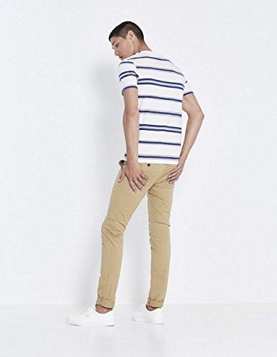 Homme Pantalon beige Celio Foncé Beige AOFw5qBx