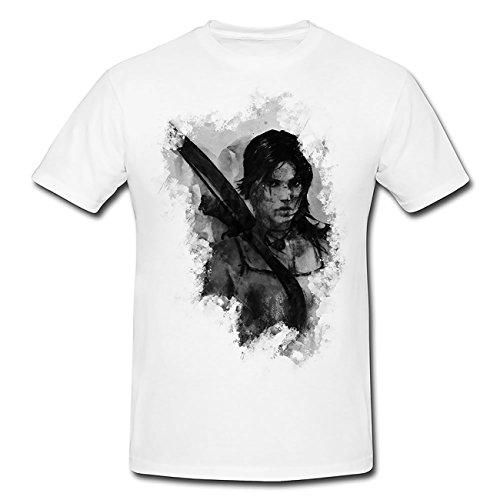 Bogenschuetze-Tomb Raider III T-Shirt Herren, Men mit stylischen Motiv von Paul Sinus