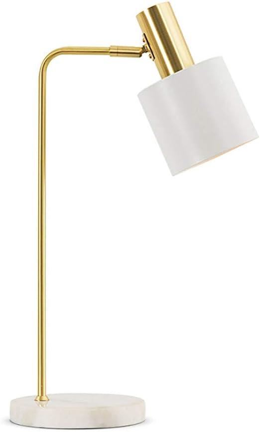 ASDYY Lámpara de Escritorio, mármol nórdico Macaron lámpara de ...