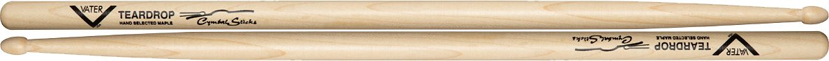 Vater Percussion Cymbal Teardrop Wood Tip VMCTW