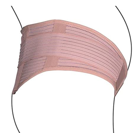 Medical Grade support NEO G Pregnancy Support Belt reversible design during /& after pregnancy aid ligament laxity /& lower back pain Beige breathable material HELPS postnatal muscle LARGE
