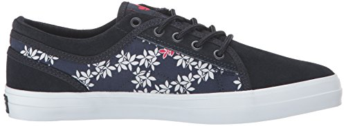 Navy DVS Leaf Red WOS Women's Aversa Tea Skateboarding Shoe qwWxwTaRPX